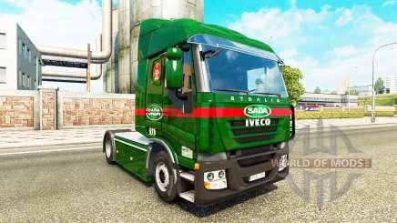 Sada Transportes de la peau pour Iveco tracteur pour Euro Truck Simulator 2