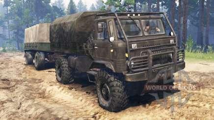GAZ-66 ATV für Spin Tires