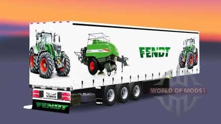 Vorhang semi-trailer Schmitz Cargobull Fendt v2.0 für Euro Truck Simulator 2