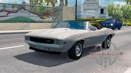 Des voitures classiques de la circulation v1.1.1 pour American Truck Simulator