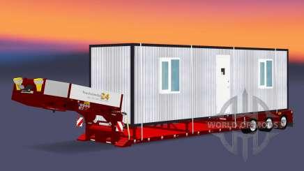 Lit bas au chalut de Poupée Vario avec fret cabines pour Euro Truck Simulator 2