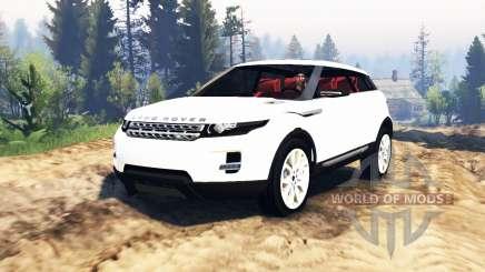 Range Rover Evoque LRX v2.0 für Spin Tires
