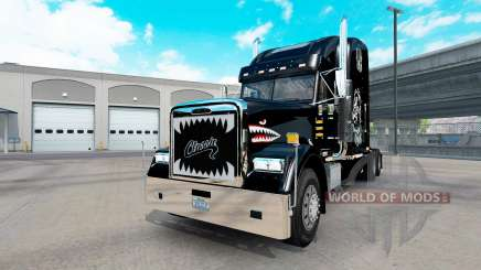 Freightliner Classic XL custom pour American Truck Simulator