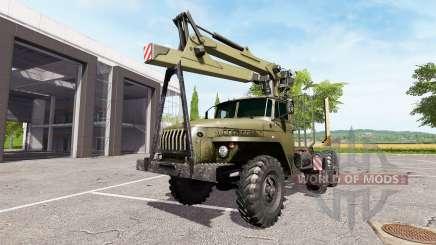 Ural-4320 camion pour Farming Simulator 2017