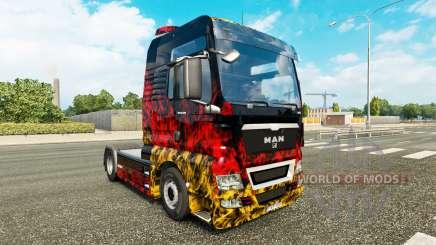 La peau de l'Allemagne dans le tracteur HOMME pour Euro Truck Simulator 2