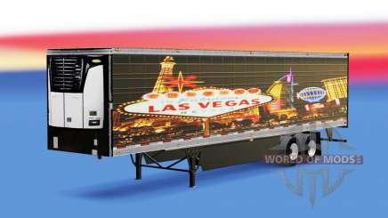 Haut Las Vegas für reefer-Auflieger für American Truck Simulator