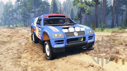 Volkswagen Touareg Dakar Rally pour Spin Tires