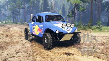 Volkswagen Beetle Baja für Spin Tires