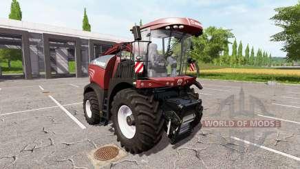 Krone BiG X 580 tuning edition v1.1 pour Farming Simulator 2017