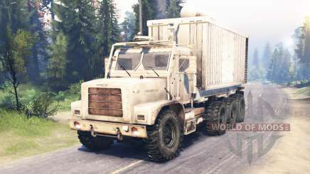 Oshkosh MTVR 8x8 für Spin Tires