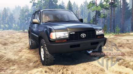 Toyota Land Cruiser 80 VX pour Spin Tires