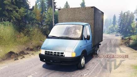 GAS-3302 Gazelle für Spin Tires