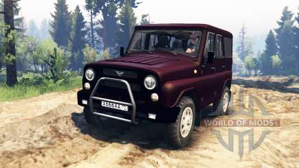 UAZ-315195 chasseur turbo v2.0 pour Spin Tires
