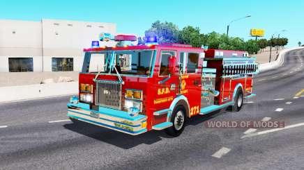 Camion de pompiers pour American Truck Simulator