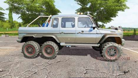 Mercedes benz g65 amg 6x6 seed pour farming simulator 2017 for Mercedes benz route 17