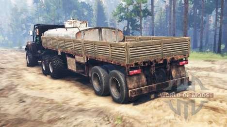 KrAZ-255 in der UdSSR v2.0 für Spin Tires