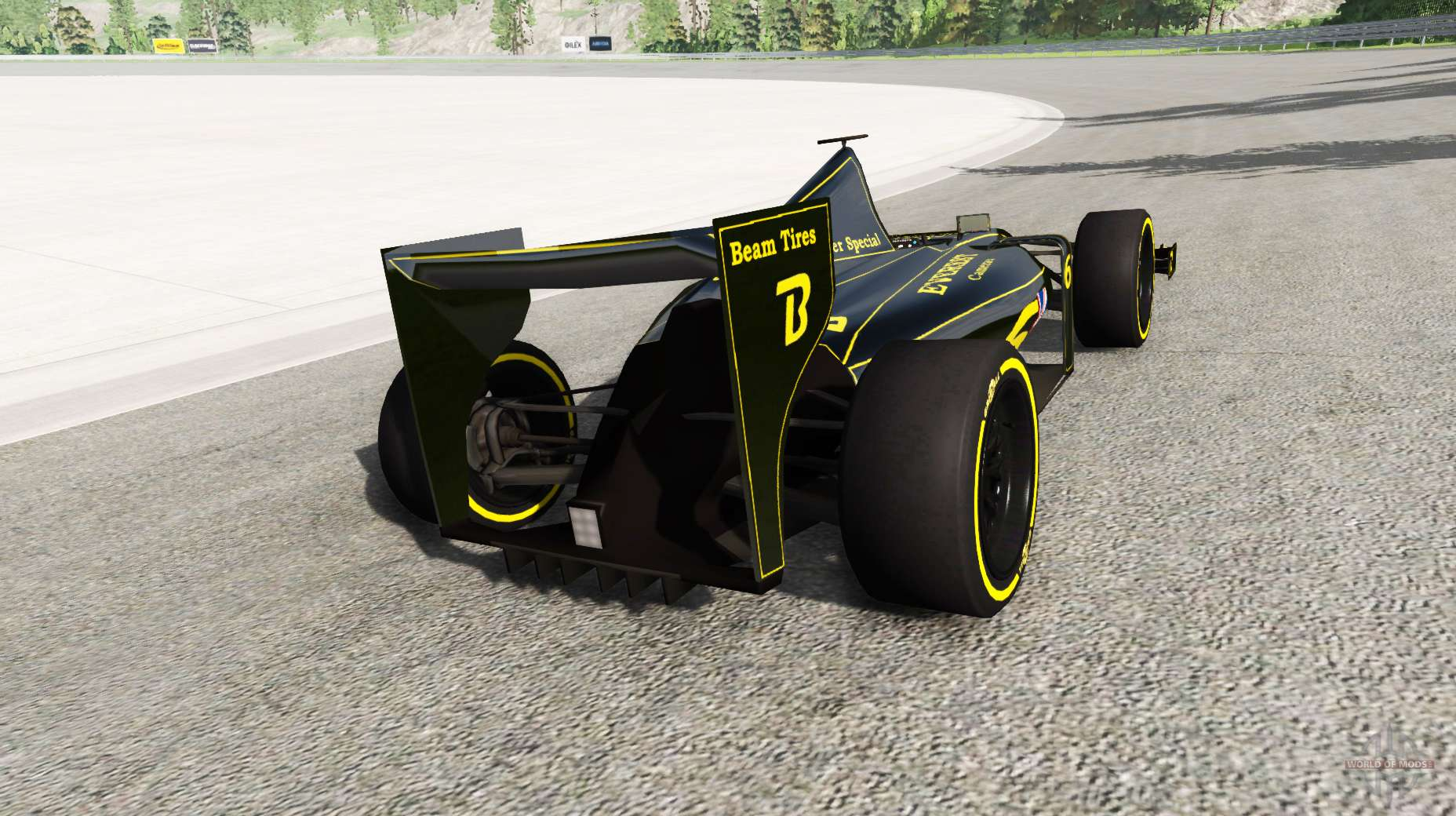 la voiture de formule 1 v1 1 pour beamng drive. Black Bedroom Furniture Sets. Home Design Ideas
