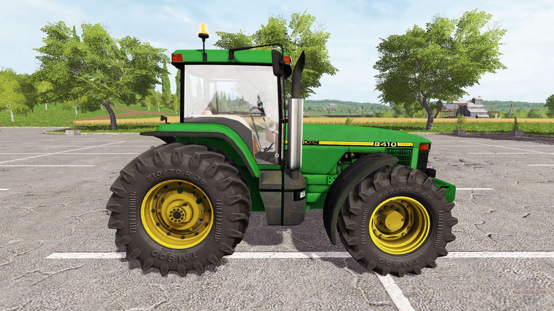 John deere 8410 pour farming simulator 2017 for 8410 3