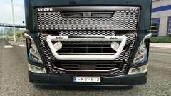 Die Stoßstange guard Kelsa auf Volvo-LKW