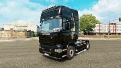 Haut Drachen für LKW Scania