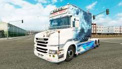 La fumée de la peau pour camion Scania T