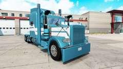 Blue Ice skin für den truck-Peterbilt 389