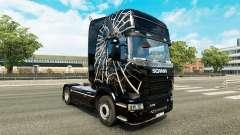 Spider-skin für den Scania truck