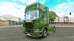Vabis de la peau pour Scania camion