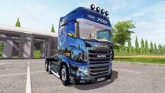 Scania R700 Evo gold