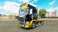Juventus skin für Scania-LKW