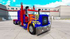 Optimas Prime skin für den truck-Peterbilt 389