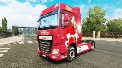 Noël de la peau pour DAF camion