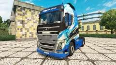 R. Thurhagens de la peau pour Volvo camion