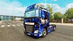 La fantaisie de la peau pour DAF camion