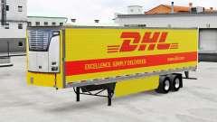 Haut DHL für reefer-Auflieger