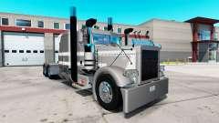 Creisler de la peau pour le camion Peterbilt 389