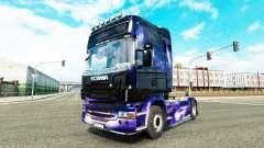 De la peau pour Scania camion