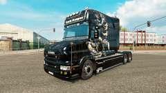 Dunkle Reaper skin für LKW Scania T
