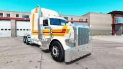 Balise de la peau pour le camion Peterbilt 389