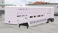 Auflieger-Rinder-Träger