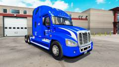 La peau Walmart sur tracteur Freightliner Cascad