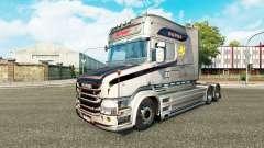 Le Vabis V8 peau Métallique pour camion Scania T
