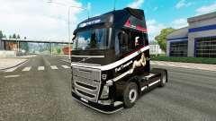 Rapide Transporte de la peau pour Volvo camion