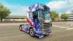 Skin für Scania-LKW