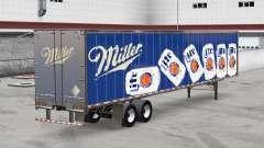 Tous métal-semi-remorque Miller Lite