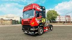 NASCAR de la peau pour Scania camion