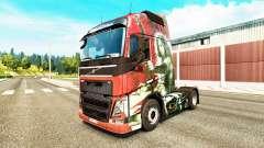 La peau de la Lame pour Volvo camion
