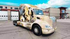 Leon skin für den truck Peterbilt 579