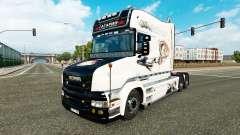 Gagarin Haut für LKW Scania T