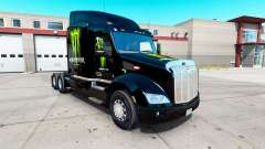 Monster Energy skin für den truck Peterbilt 579